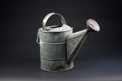 Antique Garden Watering Can (1) Royalty Free Stock Photography