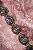 Antique garnet braclet Stock Images