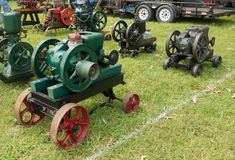 Antique gas engines at an annual agricultural event in paducah Stock Photos