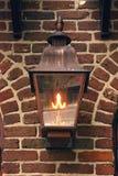 Antique Gas Light Stock Photo