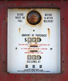 Antique Gas Pump Close Up Stock Images