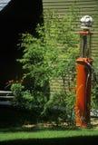 Antique gas pump,  MI Stock Photography
