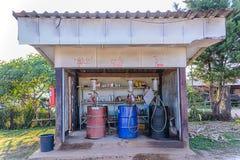 Antique gas pumps. Stock Photography