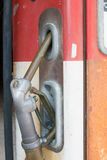 Antique gas station pump Royalty Free Stock Photo