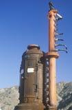 Antique gasoline pumps, Stock Images