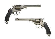 Antique German Navy Revolver Stock Images