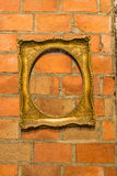 Antique gilded Frame Stock Image