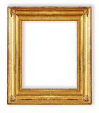 Antique, gilded frame Royalty Free Stock Photo