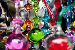 Antique Glass Figures Royalty Free Stock Images