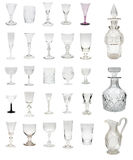 Antique Glass Montage Royalty Free Stock Photo