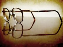 Antique Glasses Royalty Free Stock Images
