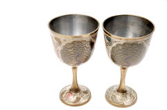 Antique glasses Royalty Free Stock Photo