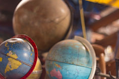 Antique globe Stock Images