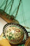 Antique Globe a Royalty Free Stock Photography