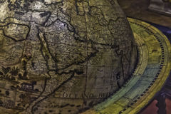 Antique Globe Stock Photo