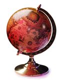 Antique Globes Royalty Free Stock Photography