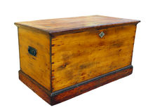 Antique Glory Box with Lock stock photos