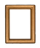 Antique Gold Frame stock image
