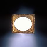 Antique gold frame Royalty Free Stock Images