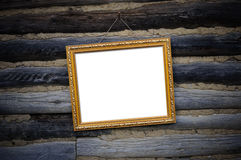 Antique gold frame Stock Photos