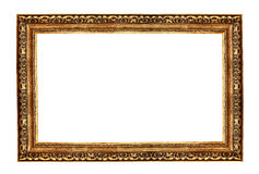 Antique gold frame Royalty Free Stock Photo