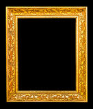 The antique gold frame. Stock Photography