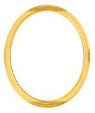 Antique Gold Frame. Narrow gold vintage/antique frame -- empty royalty free illustration