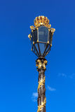 Lamp on Stanislas place, Nancy, France Stock Images