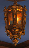 Antique gold lantern Stock Photos