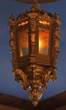 Antique gold lantern Stock Photos