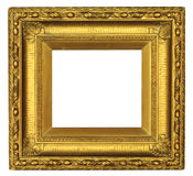 Antique Gold Picture Frame royalty free stock photo