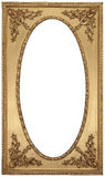 Antique Gold Picture Frame. There is a antique gold picture frame Stock Photography