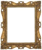 Antique Gold Picture Frame. There is a antique gold picture frame Royalty Free Stock Photography