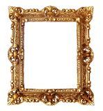 Antique golden frame Stock Photos