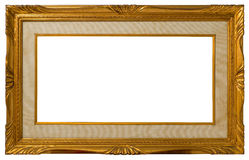 Antique golden frame. Stock Images