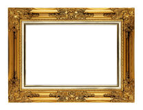 Antique golden frame Royalty Free Stock Image
