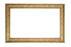 Antique golden frame Stock Photography