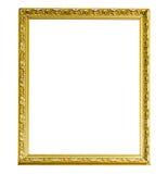 Antique golden frame Royalty Free Stock Photos