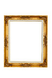 Antique golden frame Royalty Free Stock Images