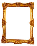 Antique golden frame Royalty Free Stock Photo