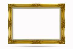 Antique golden frame Royalty Free Stock Image