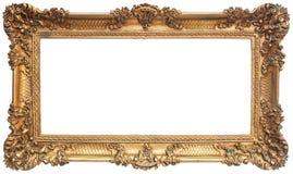 Antique golden frame Royalty Free Stock Images