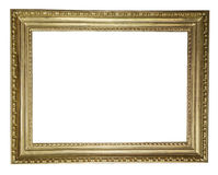 Antique golden frame Stock Photo