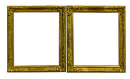 Antique golden frames Stock Photo
