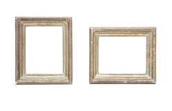 Antique golden picture frame Royalty Free Stock Photos