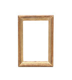 Antique golden picture frame Stock Photography
