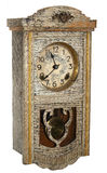 antique golden wall clocks Royalty Free Stock Image