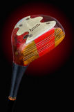 An antique golf driver. An antique, persimmon golf driver. Includes working path Stock Photos