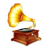 Antique Gramaphone Royalty Free Stock Images