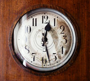 Antique grandfather clock Royalty Free Stock Images